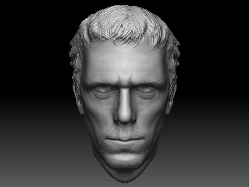 доктор хаус   3D моделлер HI-LOW poly