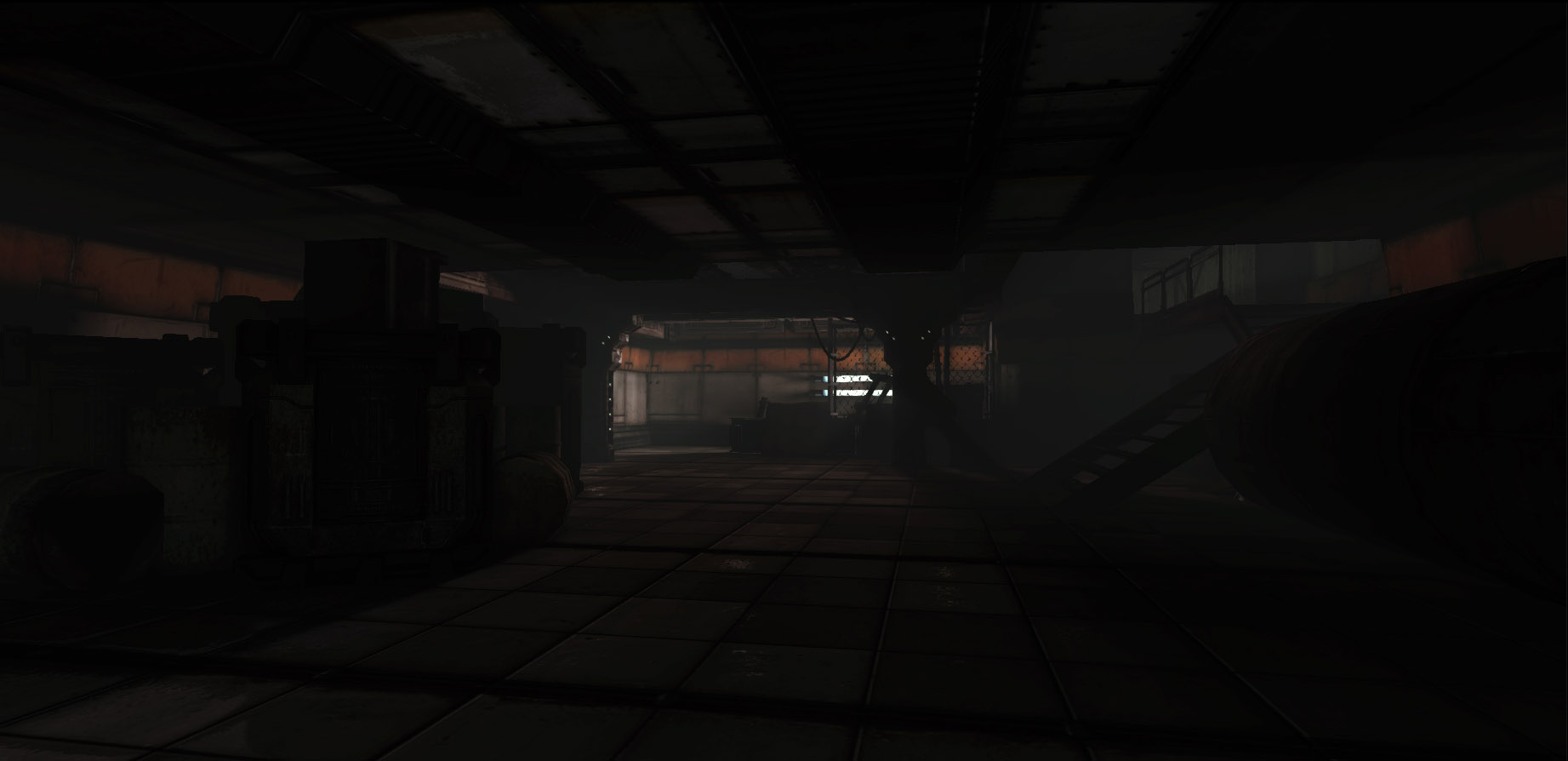 UDK sci fi environment