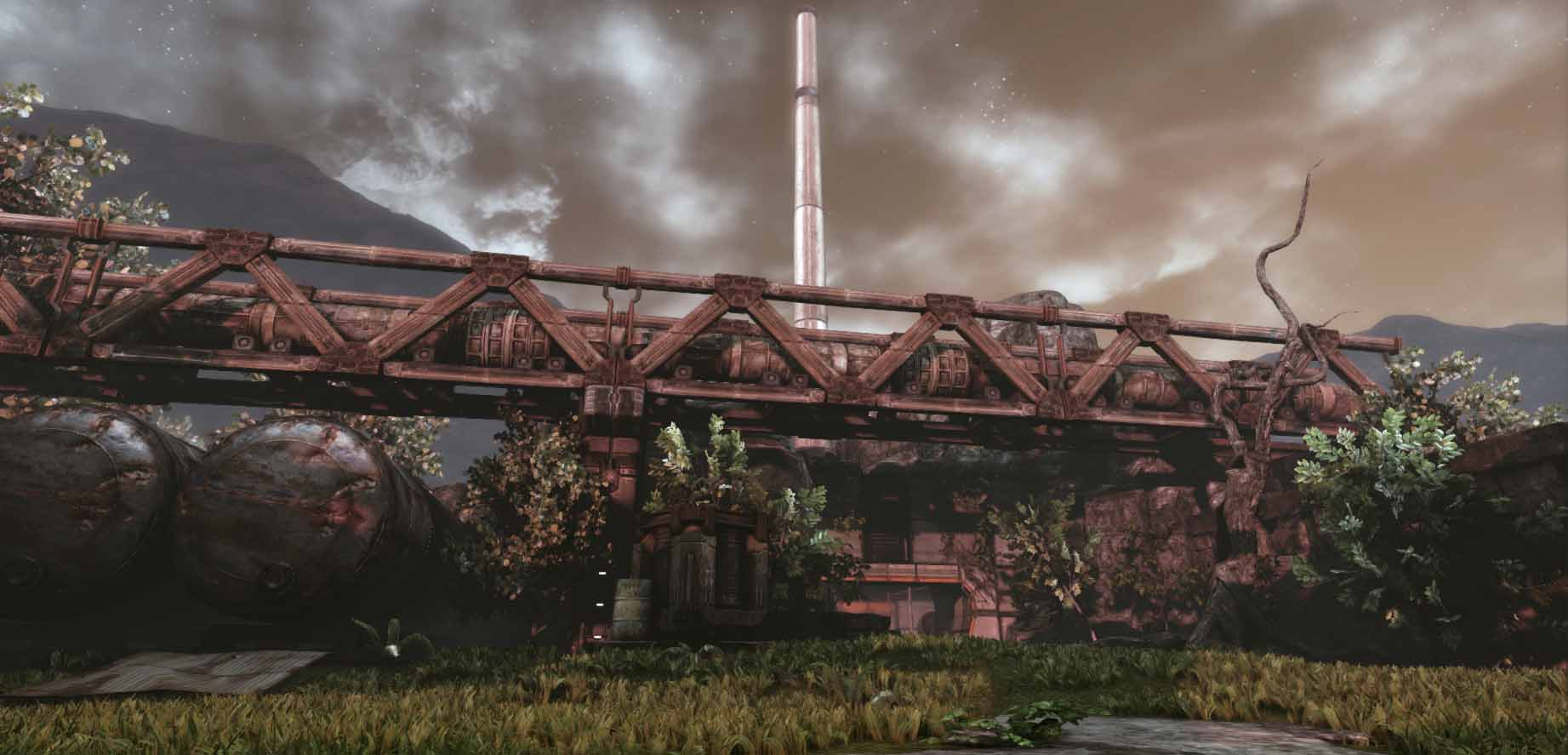 UDK sci fi environment 3