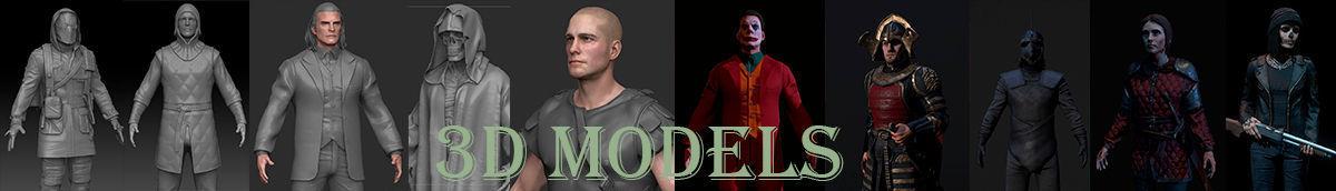 1 | 3D Character Artist