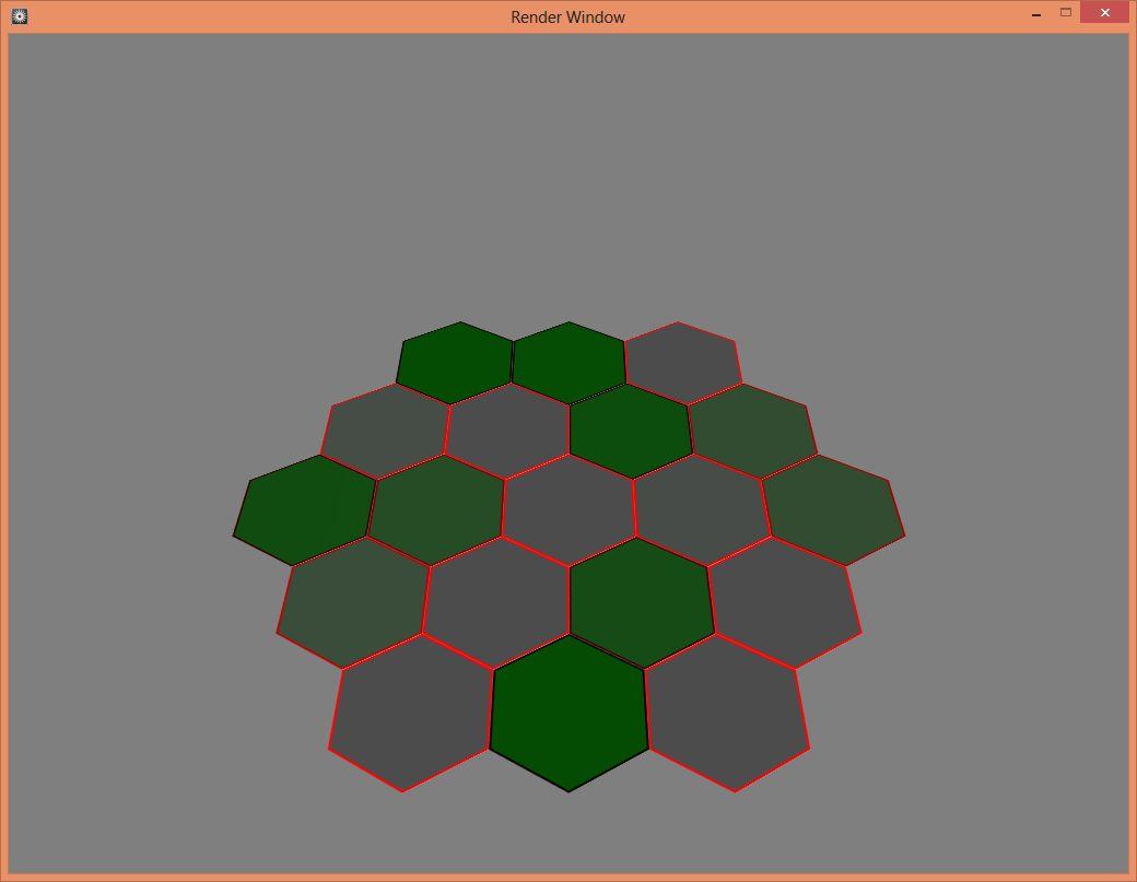3 | Простая генерация гексагональной (шестиугольной) сетки из центра + поворот матрицы на любой угол. Апгрейд 2019 года (комментарии)