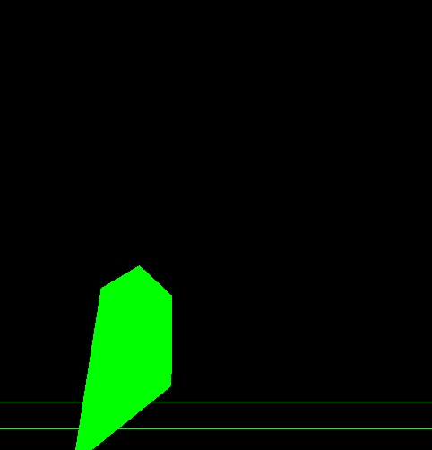 пример | Неправильная отрисовка многоугольников openGL