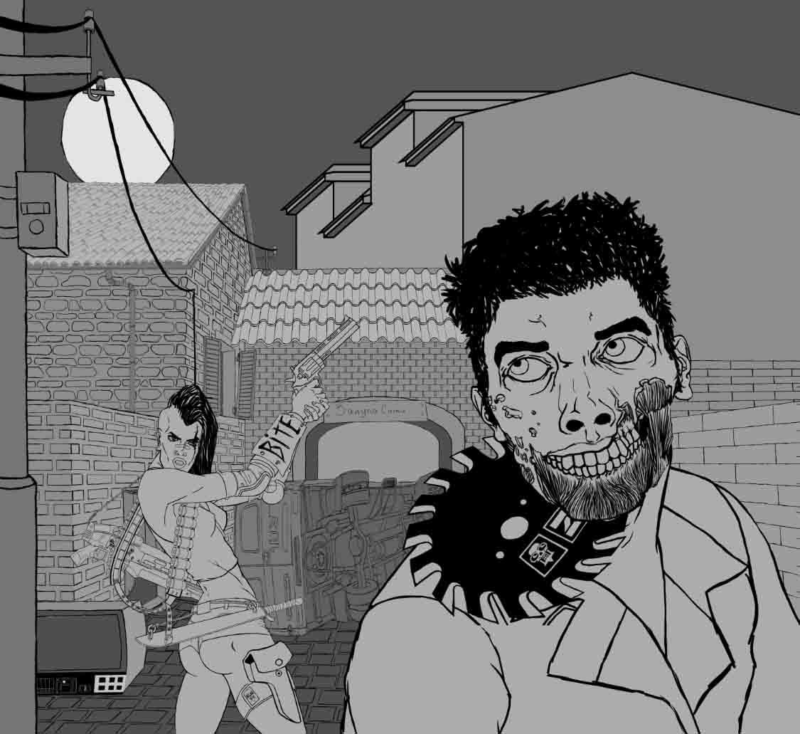 zombie   Bimeni каля-маля