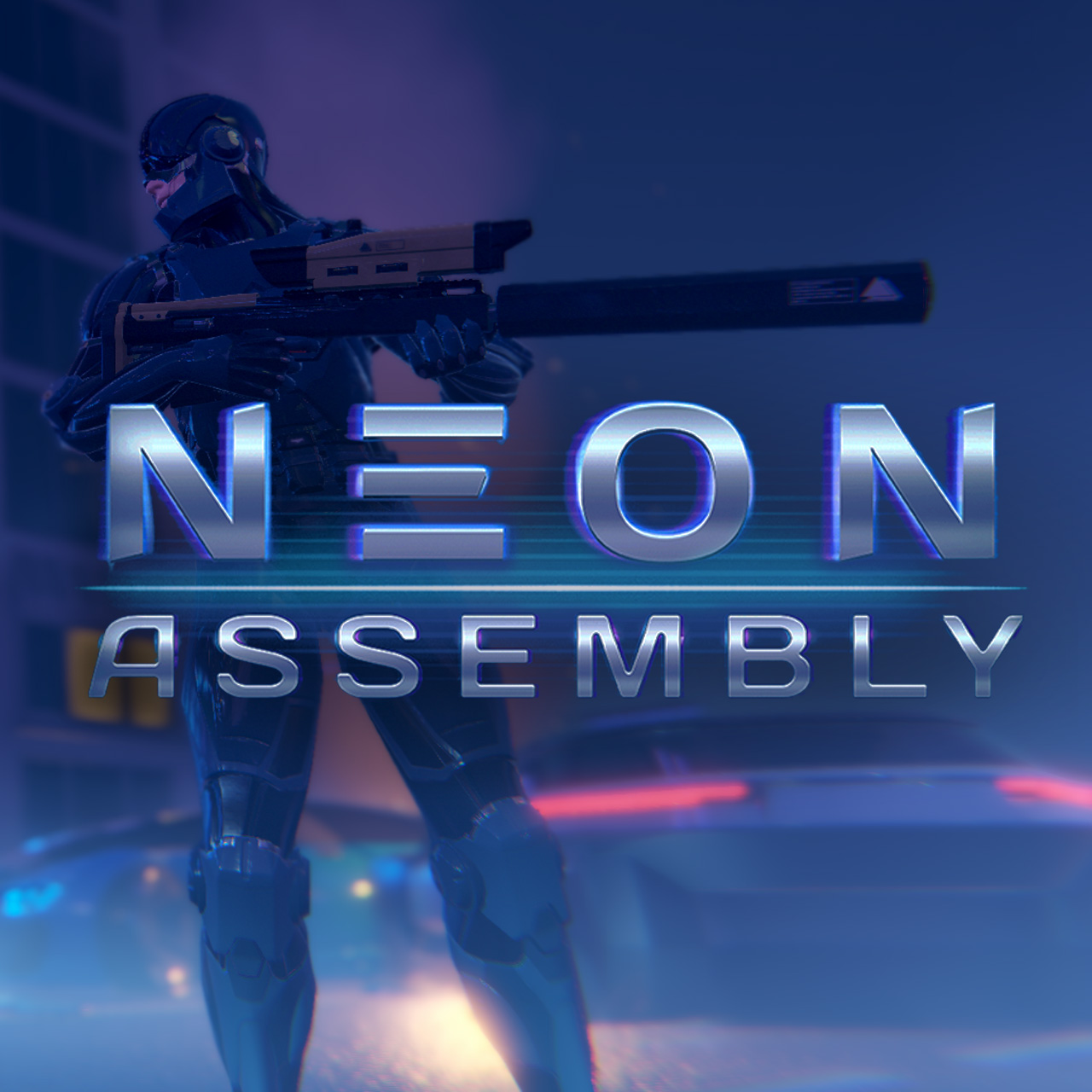 NEON ASSEMBLY LOGO | NEON ASSEMBLY. A competetive multiplayer turn based tactics game. [ Demo Finished. Билд в теме ]