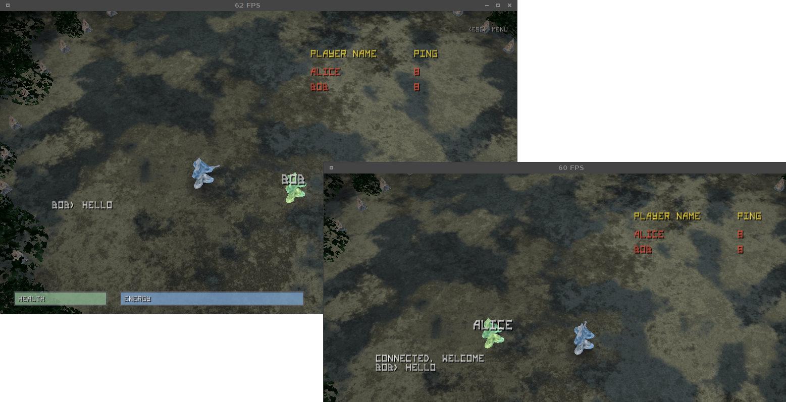 AI Arena MP Screenshot Chat 2
