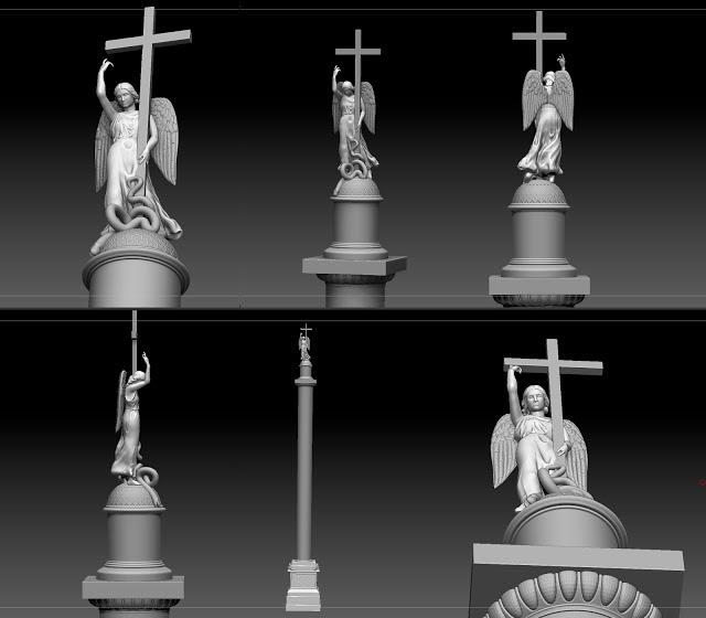 Alex_stolp   3D моделлер HI-LOW poly