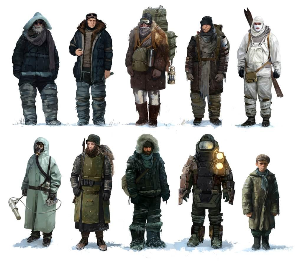 Concept Art Set NPCs | 2D, концепт-художник/арт-лид