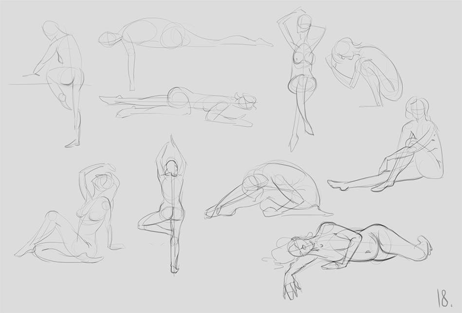 anatomy_figure_02 | Анатомия и дизайн персонажей(18+)