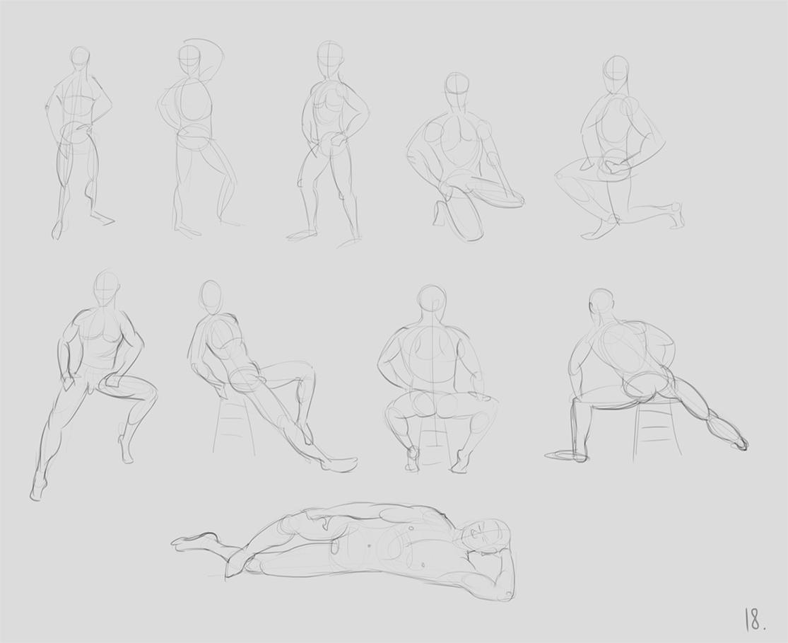 anatomy_figure_03 | Анатомия и дизайн персонажей(18+)
