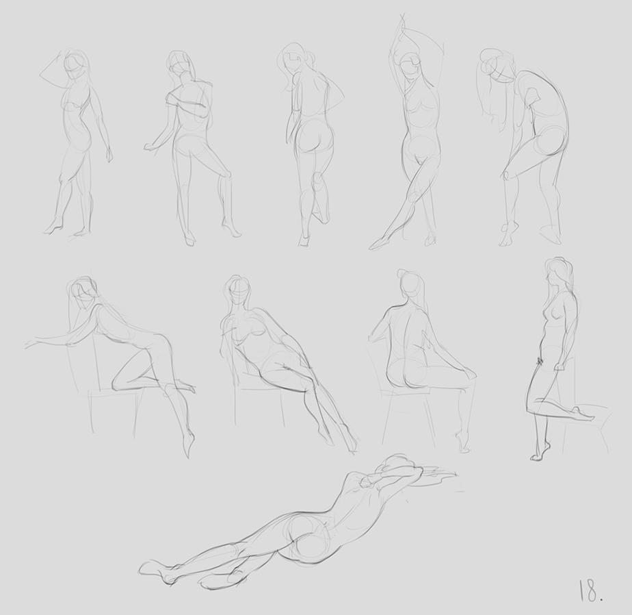 anatomy_figure_05 | Анатомия и дизайн персонажей(18+)