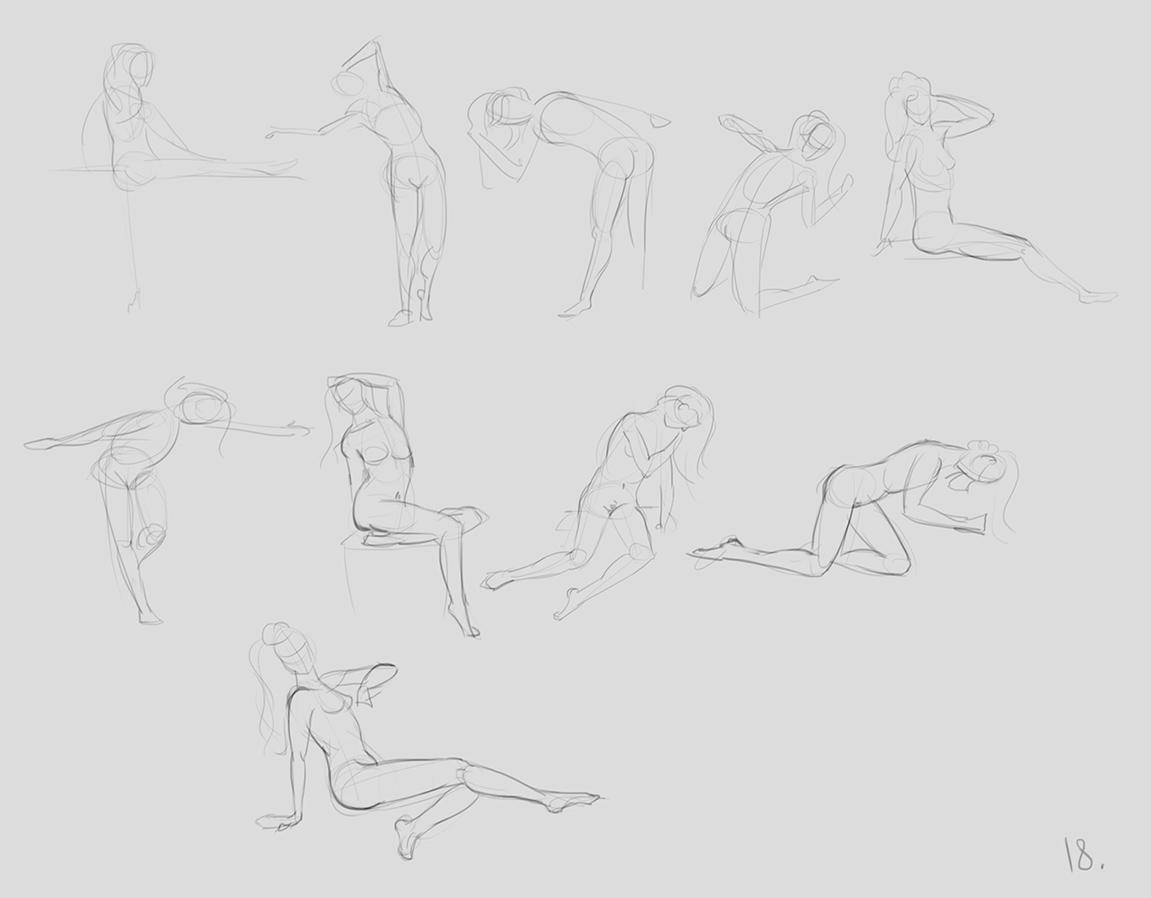 anatomy_figure_06 | Анатомия и дизайн персонажей(18+)