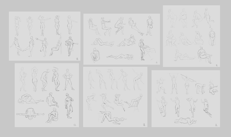anatomy_figure_12all | Анатомия и дизайн персонажей(18+)