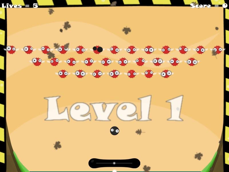 Level1 | GooNoid (Arcanoid)