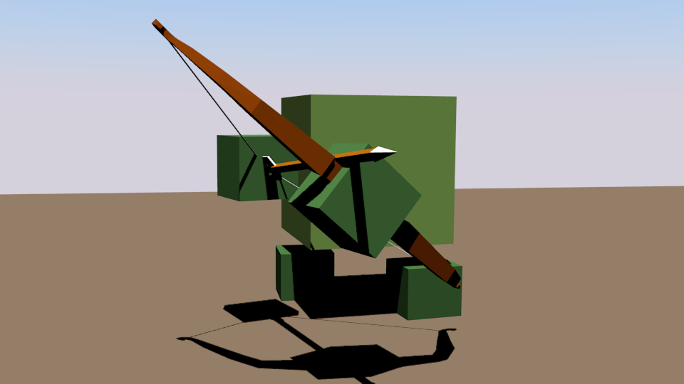 Лучник | Простые модельки из нескольких кубиков