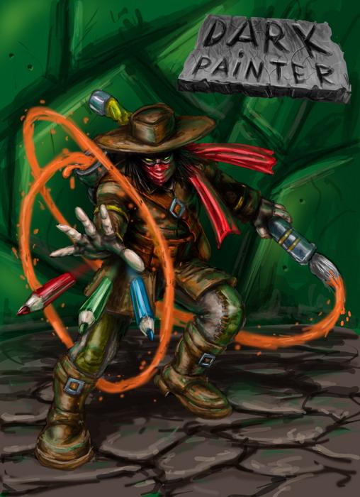 artist color sved | Любой игровой арт: скетчи игровых объектов и персонажей, интрефейсы, беки и т.д. (примеры внутри)