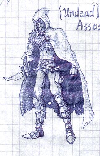 Assassin01 | MakaR`s drawing...