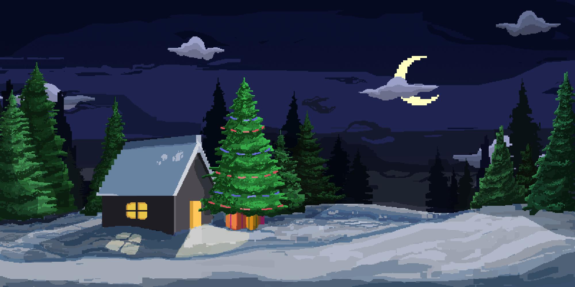 new year | 2D художник(пропсы/иконки/изометрия/pixel art/фоны)