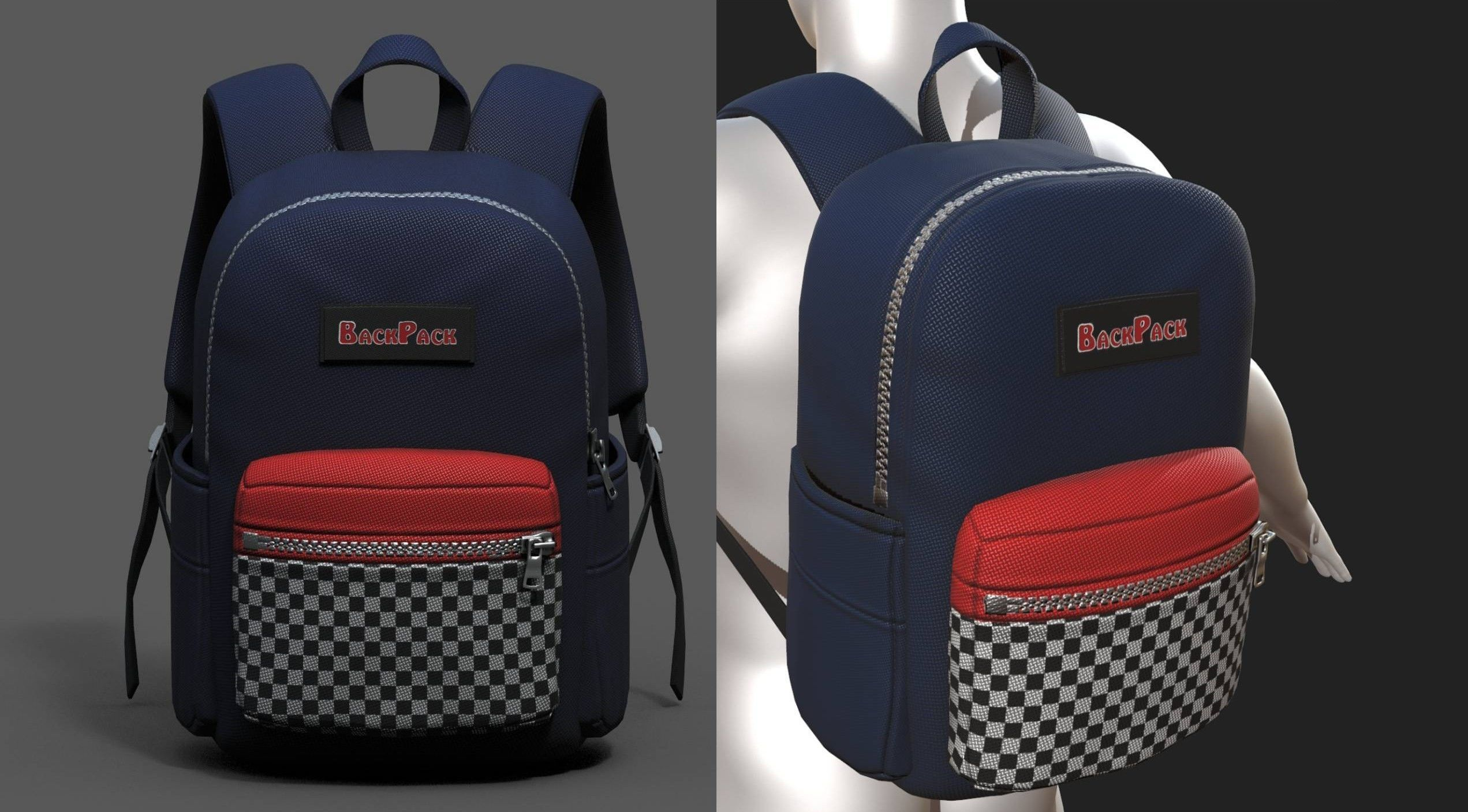 backpack-camping-bag-baggage-pockets-product-3d-model-low-poly-obj-fbx-ma | 3d artist