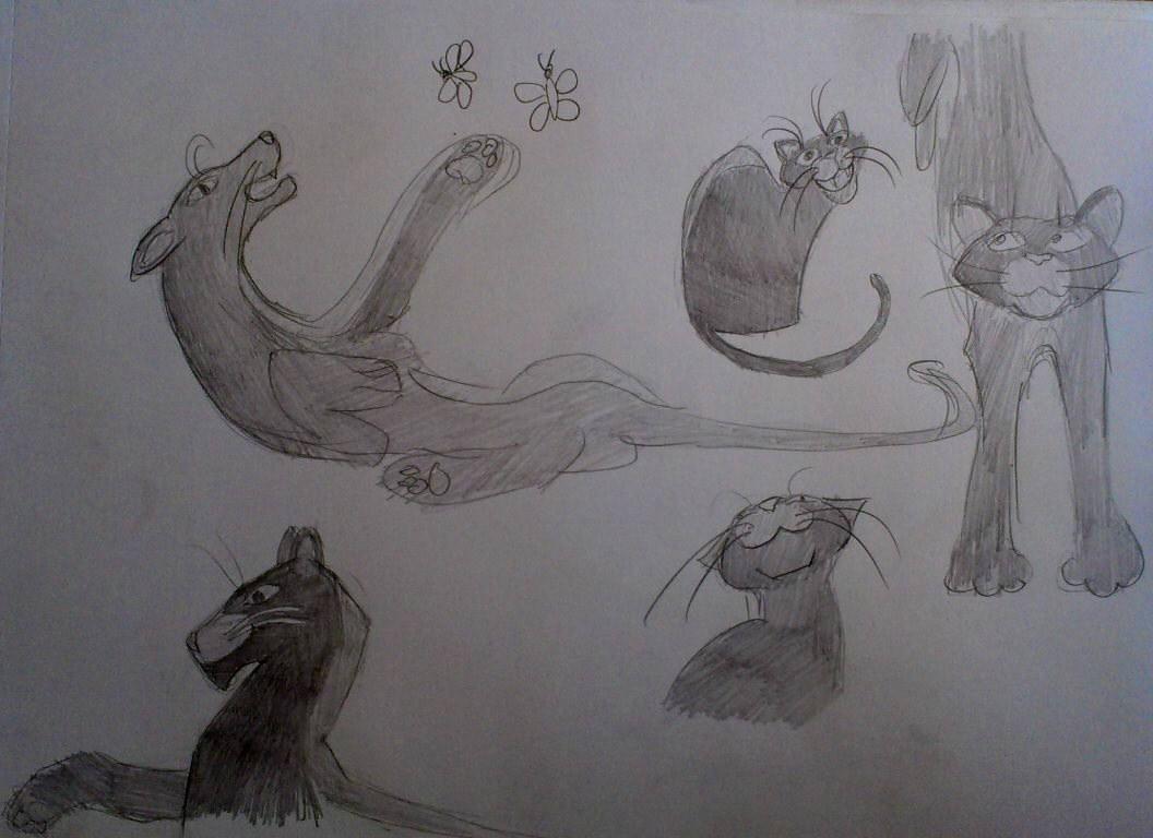 bagira | Maltakreuz рисует львиц и не только