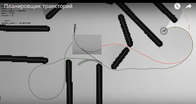 Бдительность | [|---------9%----------] 2D Планировщик траекторий v.2016