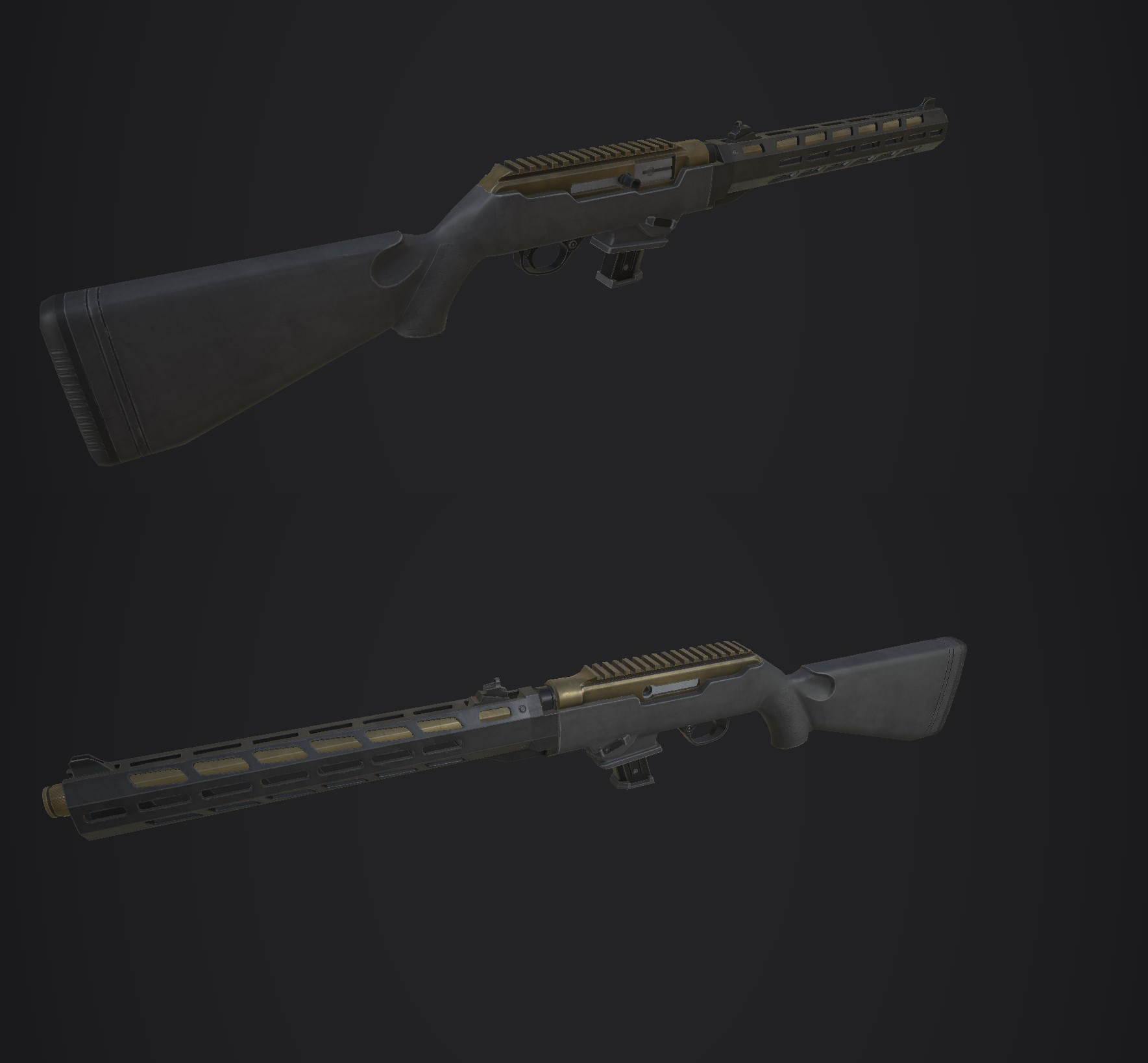 RUGER PC CARBINE 19117 | 3d artist Props/Weapons/Environment/Organics