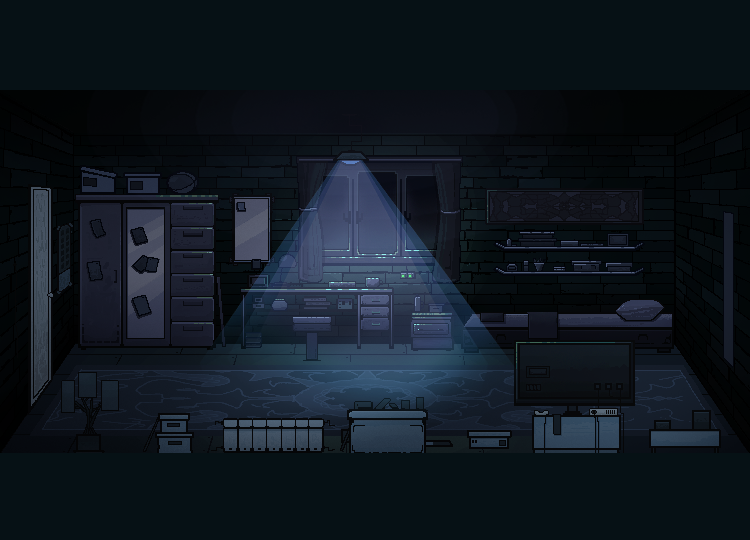bedroom (750х540)-2   В команду по созданию игры в жанре Survival horror требуются 2D художник аниматор.(Энтузиазм)