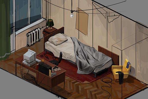 bedroomSmall | The Dark Lot / Hospital Bed / Crumbling Towers / Scrollonoid / Redeemer | В разработке #91