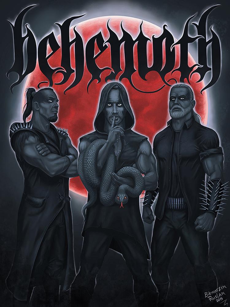 Behemoth | Мои почеркушки