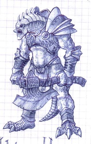 Berserker01 | MakaR`s drawing...