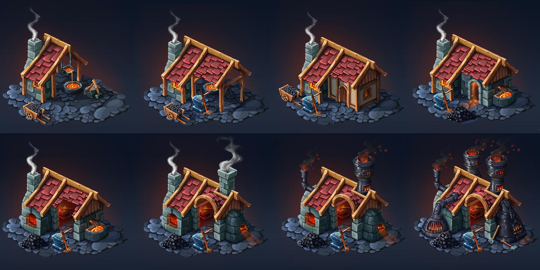 Blacksmith | [2D] Художник (environment, локации, карты, пропсы)