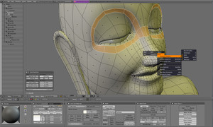 Скриншот 3D пакета моделирования Blender | Blender