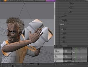 Скриншот Блендера | Blender