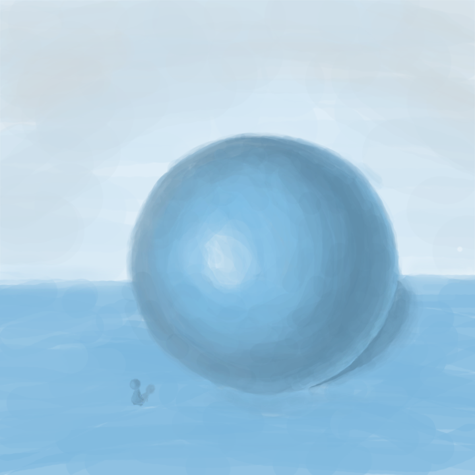 blue_ball   SunnyBunny учится рисовать