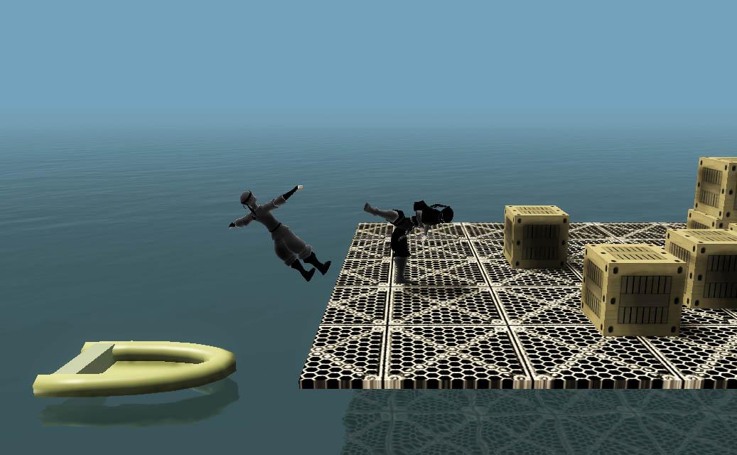 Saboteur remake - высадка с лодки, бой на причале | Saboteur 3 - ниндзя возвращается