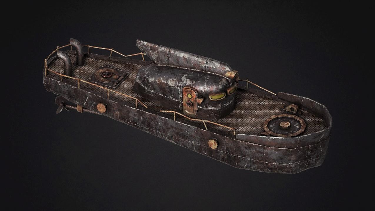 Boat_V1   3d моделлер/текстурщик