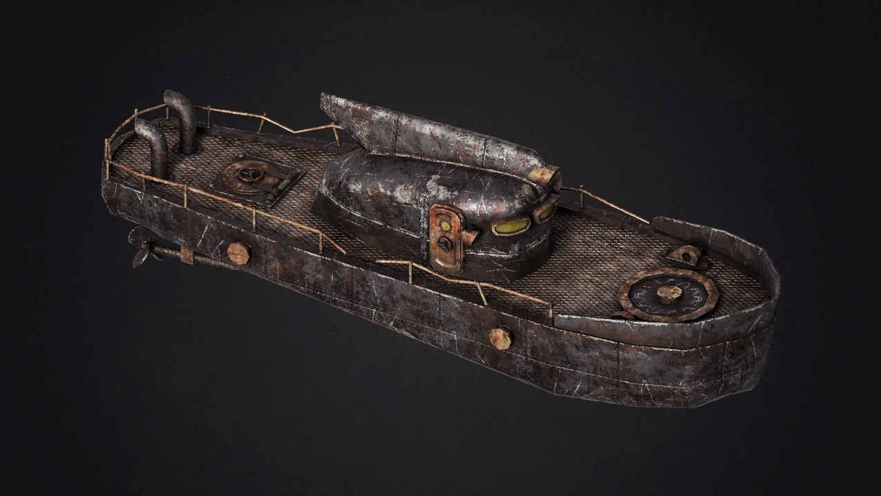 Boat_V1 | Текстурщик