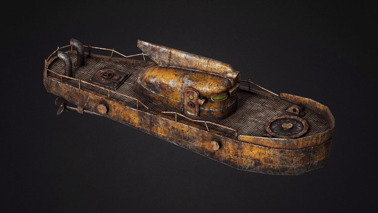 Boat_V2   3d моделлер/текстурщик