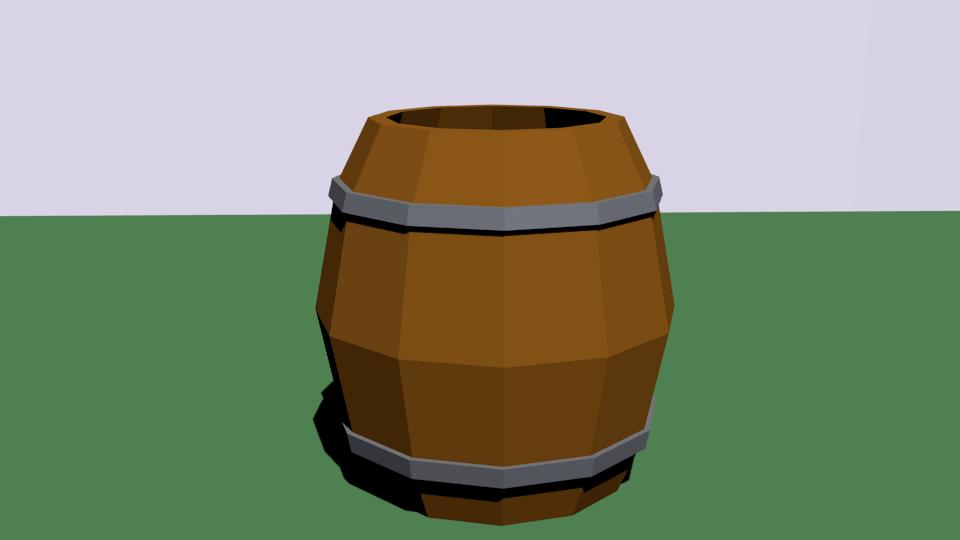 bochka | Простые модельки из нескольких кубиков