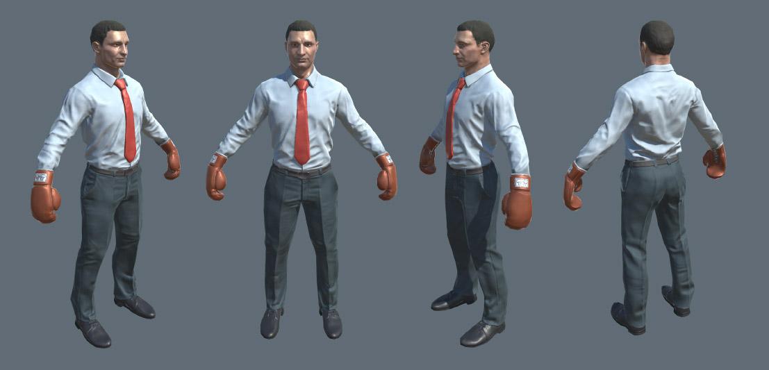 Боксер_костюм_1 | 3D Artist / Character Artist