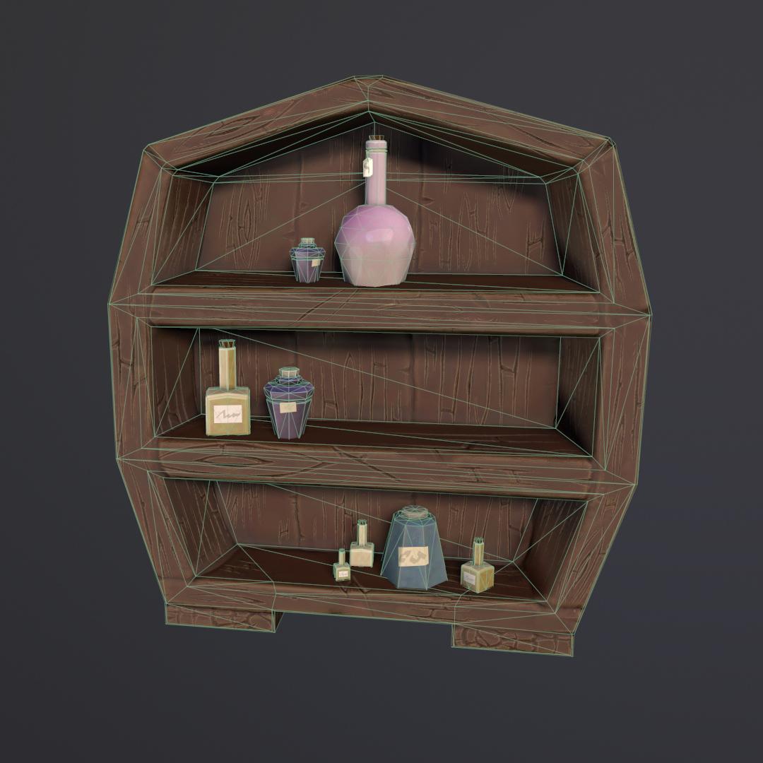Witch Workshop - Bookshelf WF