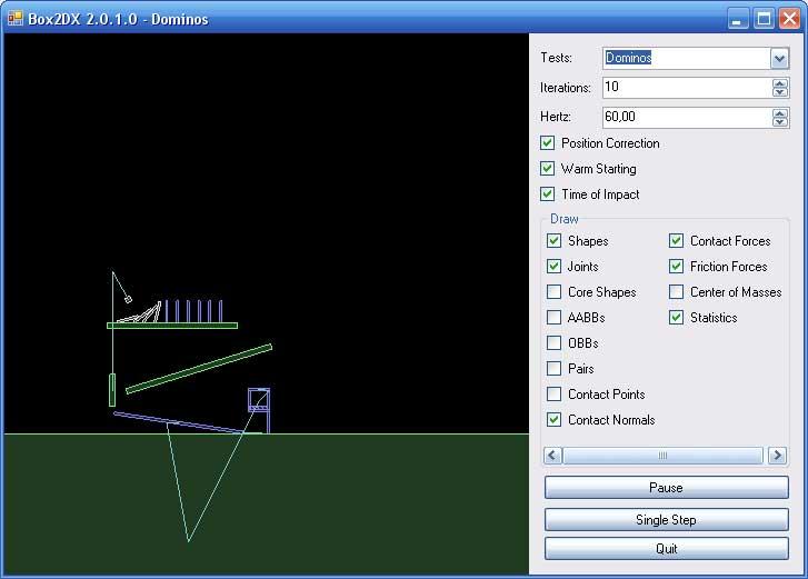 box2d | C# порт физического движка Box2D