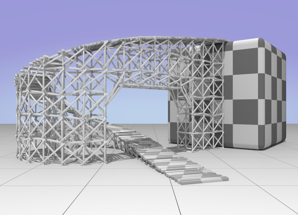 Bridge_7_1 | Houdini technical artist / 3D modeller