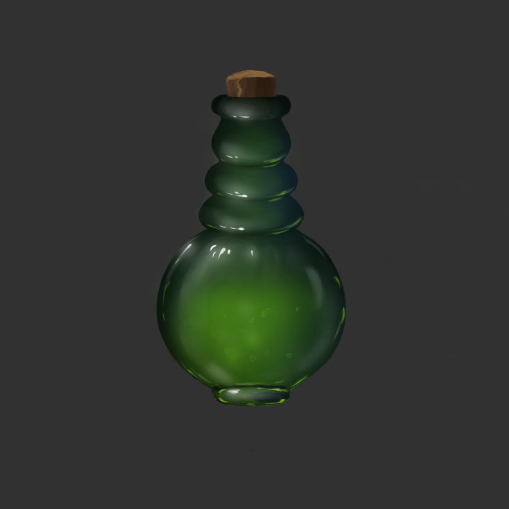 Бутылка_2 | MagenArt