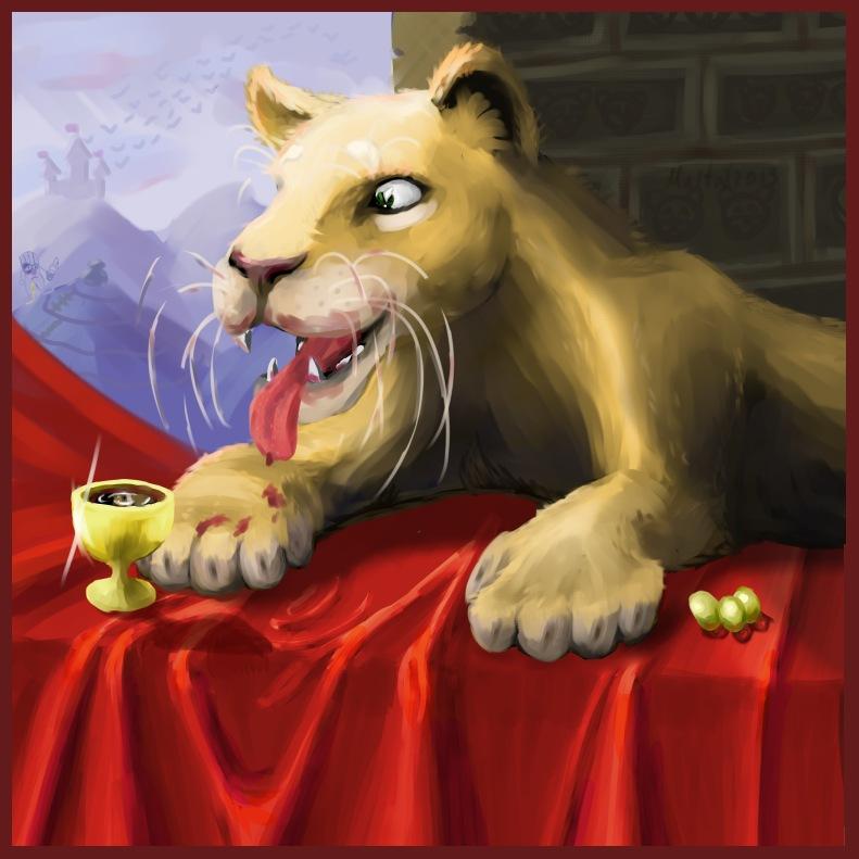 buxala | Maltakreuz рисует львиц и не только