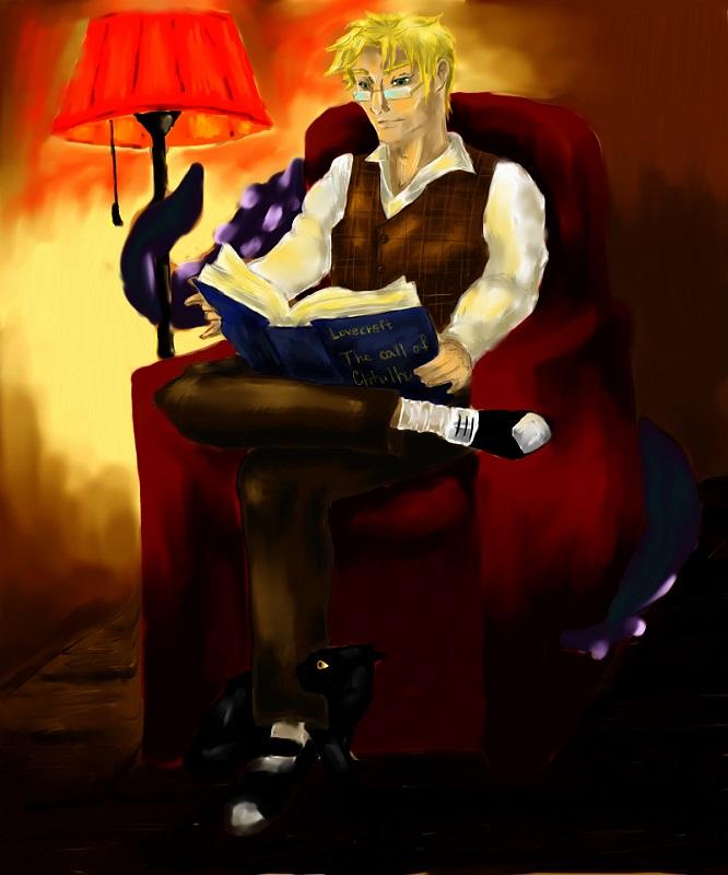 lovecraft | Tamagocha рисует