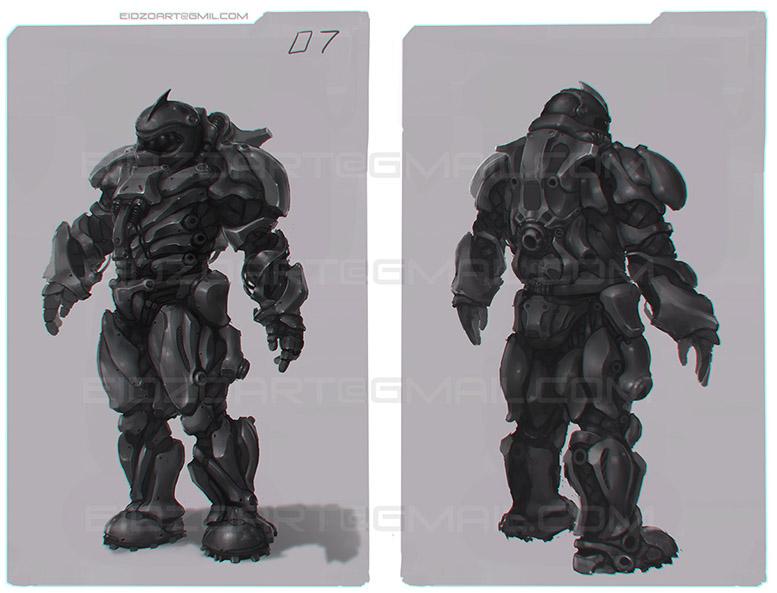 Character concept scetch | ◄2D художник/2D artist/Concept artist►[Sci-fi, fantasy, средневековье, post-apocalyptic и т.д.]