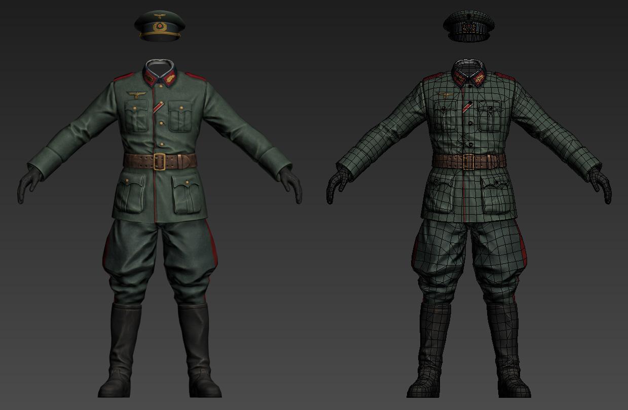 Модель персонажа | 3D художник по персонажам