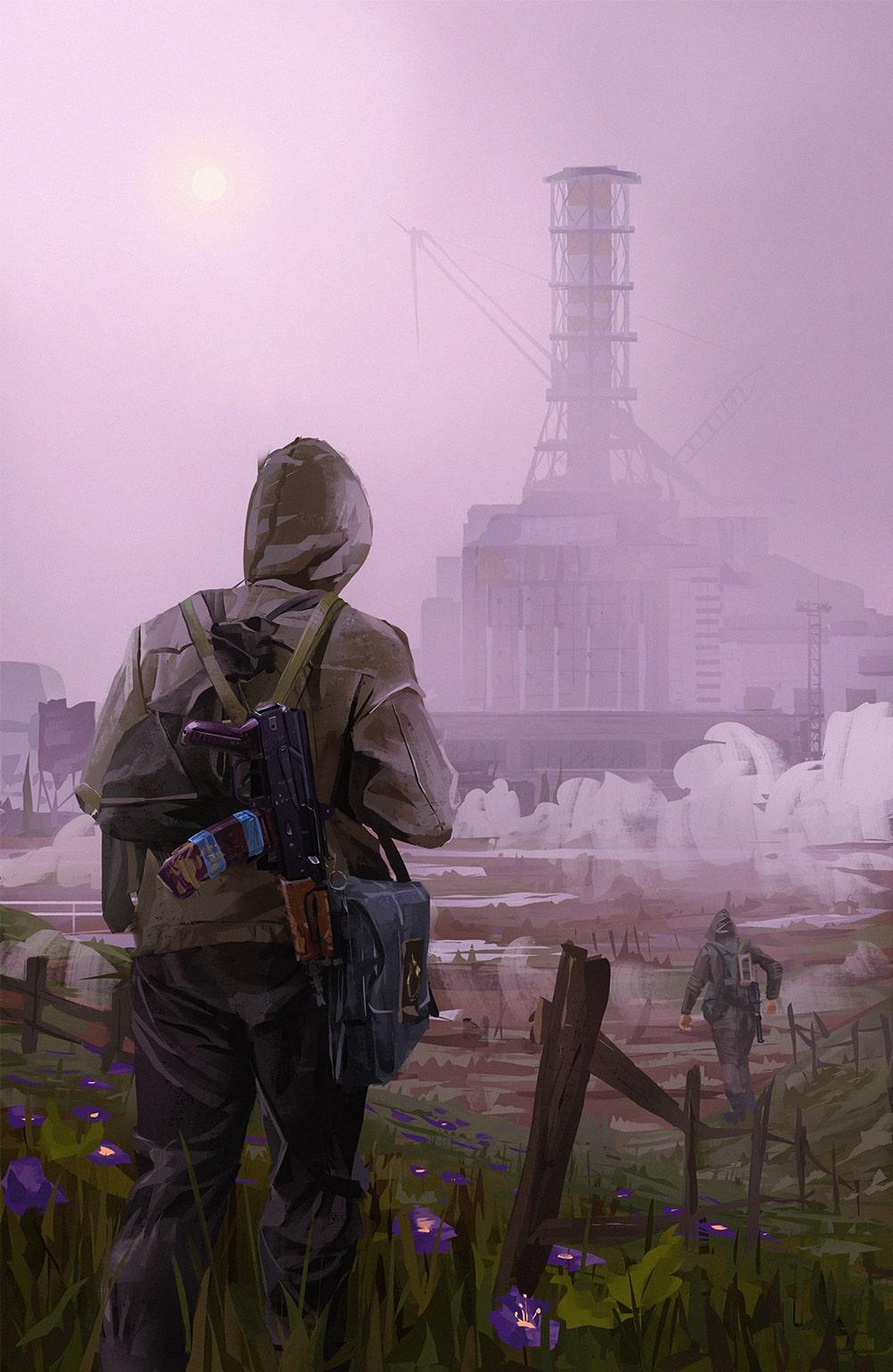 чернобыль финал-min   2d художник, иллюстратор, Environment