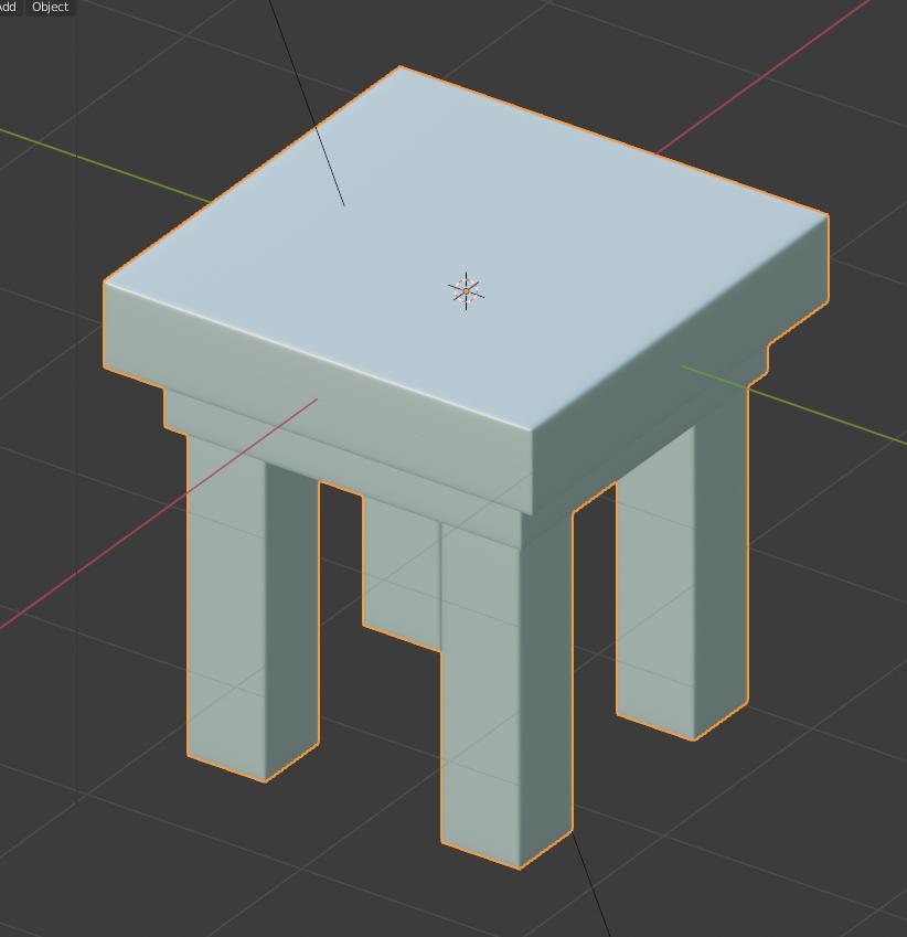 стул | карты нормалей