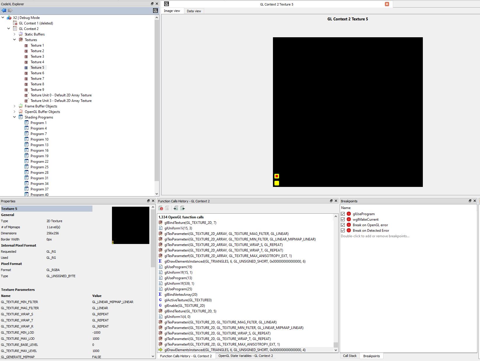 codexl_scr | OpenGL кажется сошел с ума (и рисует сиськи)